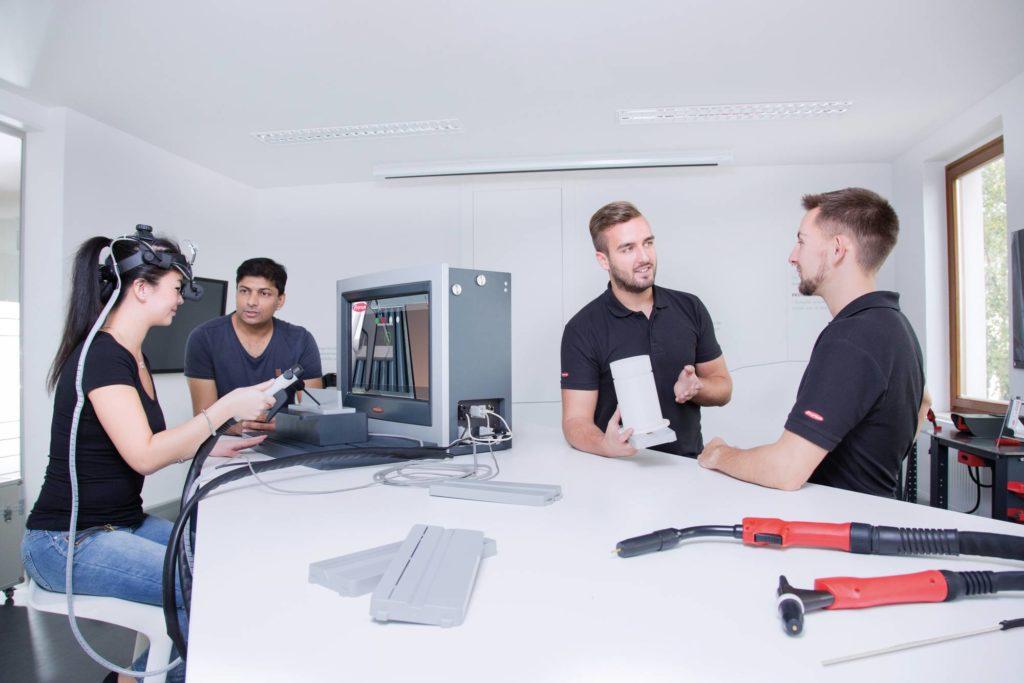 Virtual Welding – welder training of the future