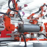 circumferential welding in boiler production
