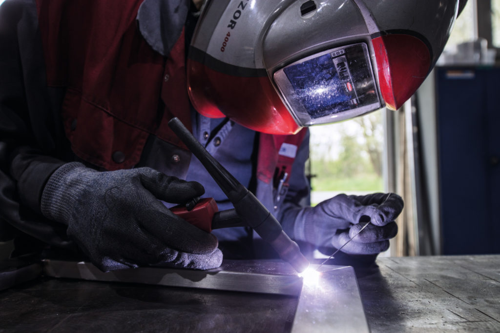 TIG welding with filler metal