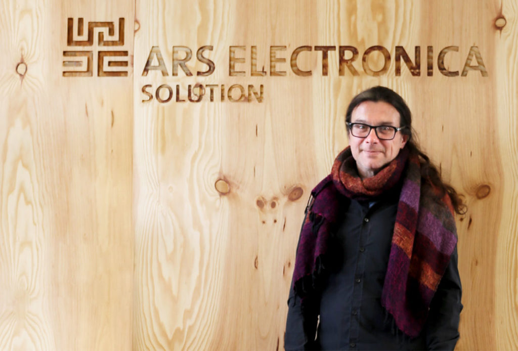 Michael Mondria von Ars Electronica Solution