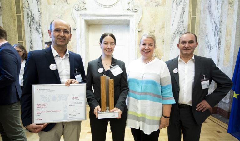 WINTEC-Preisverleihung für Projekt Sprachsteuerung