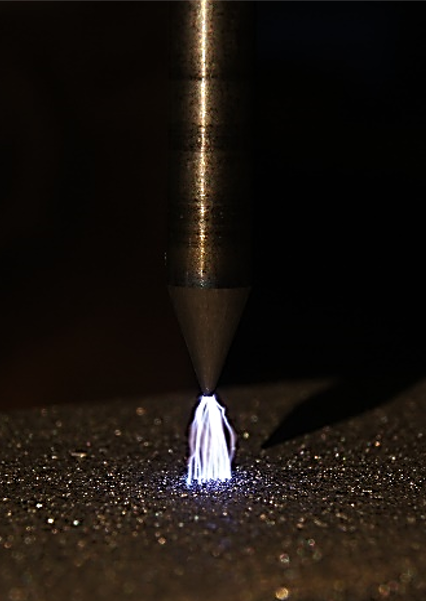 Highly professional TIG welding: HF ignition